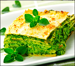 grønlangkål lasagne